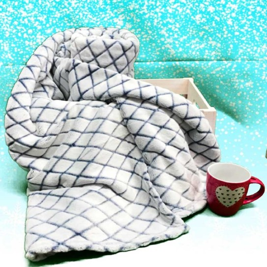 Plaid in pile Home Colletion Sensation Breack 210x240cm -
