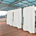 Tenda da Sole tinta unita bianco naturale 150x250cm