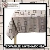 Tovaglia Antimacchia Black & White 140x180 - Centro Scampoli Carpenedolo