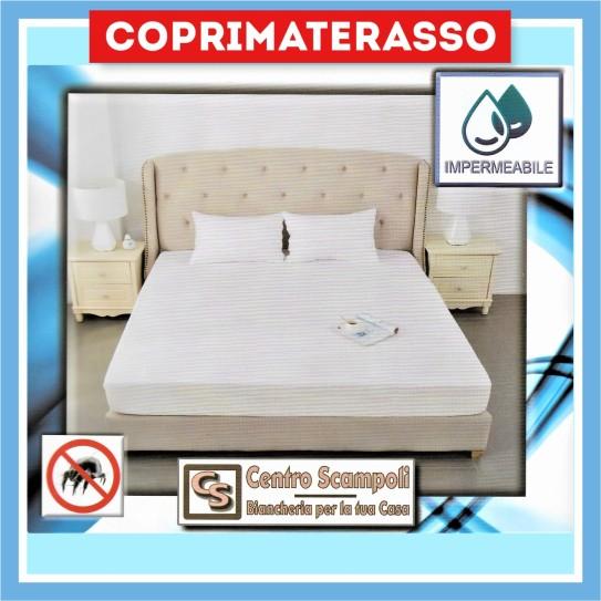 Coprimaterasso in spugna di cotone Piazza e mezza Waterdream - Centro Scampoli Carpenedolo