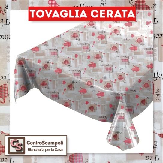 Tovaglia cerata PVC a metraggio coffe red PRODOTTO DISPONIBILE SOLO IN NEGOZIO PER INFORMAZIONI WHATSAPP: 351 59 44 955