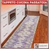 Tappeto cucina passatoia 50x240 lavanda