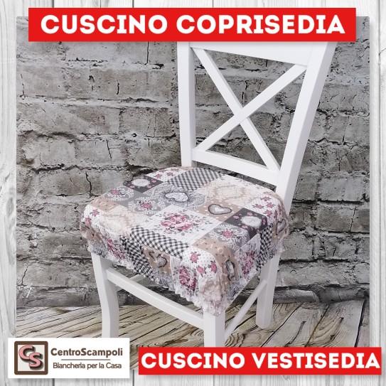 Cuscini per sedia vestisedia love