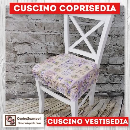 Cuscini per sedia vestisedia lavanda