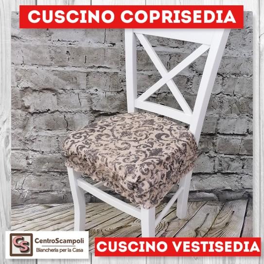Cuscini per sedia vestisedia ricciolo