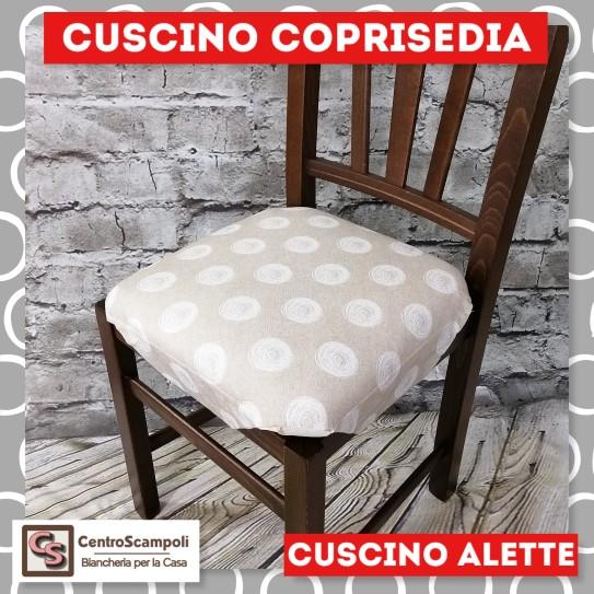 Cuscini per sedia alette piovra Cerchio