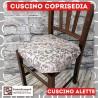 Cuscini per sedia alette piovra Riccioli