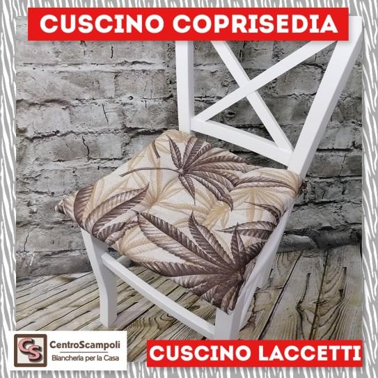Cuscini per sedia laccetti Palma