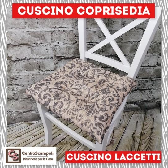 Cuscini per sedia laccetti Ricciolo