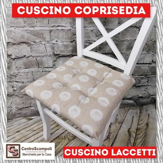 Cuscini per sedia laccetti Cerchio