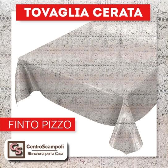 Tovaglia cerata PVC a metraggio FINTO PIZZO CLASSIC