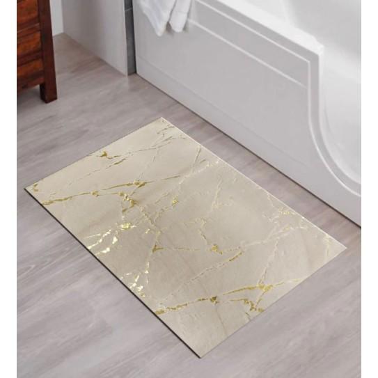 Tappeto bagno antiscivolo 50x80 King beige